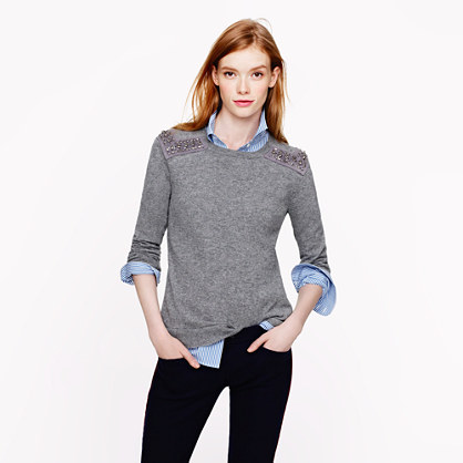 Style Tips Wear A Shirtblouse Under A Sweater Revolvingfashion